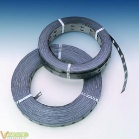 Fleje metal perf 0,7mm(2x50mt)