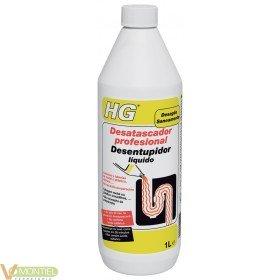Desatascador tuberias 1 lt hg