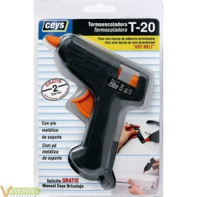 Pistola encolar termofusible 2