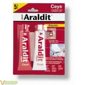 Adhesivo epoxy rap 15+15 ml ce