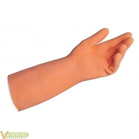 Guante latex nar industrial m0