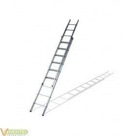 Escalera doble ex.ma.9x2 4,41m