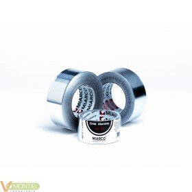 Cinta aluminio 50mmx 50mt miar