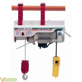 Polipasto elect cable 0100kg i