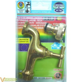 Grifo regulable toma automatic