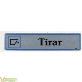 Placa adh tirad 175x040mm