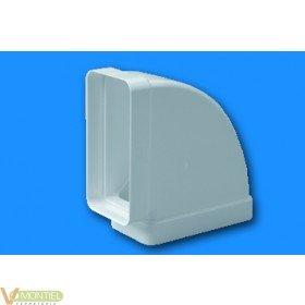Codo tubo rectangular ign/aut