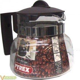Cafetera baja 1200gr.pyrex-773