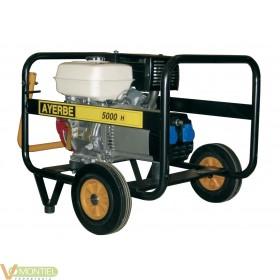 Generador gas. 9 cv 5kva ayerb