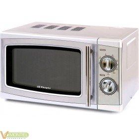 Microondas c/grill a/inox-2011