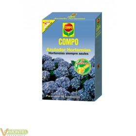Colorante hortensias azulador