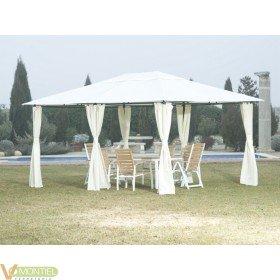 Cenador c/cortina 3x4 mt tryun