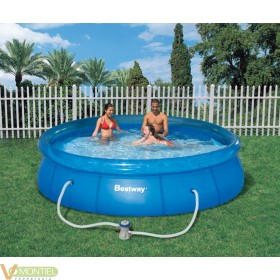 Piscina pared pvc 366x76cm dep