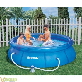 Piscina pared pvc 244x66cm dep