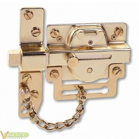 Cerrojo seguridad sin cadena 5