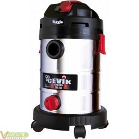 Aspirador sec/liq 30lt inox