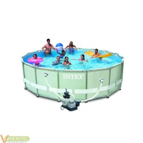 Piscina pared pvc 488x122cm de