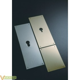 Placa cerradura 80x120mm 300/3