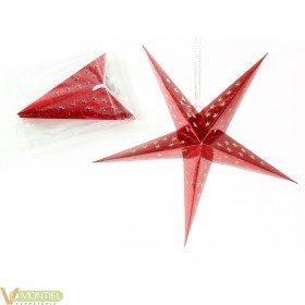 Adorno navidad estrella 45 cm