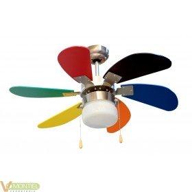 Ventilador techo 45w-3v 085cm