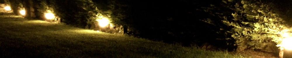 balizas jardín le permite tener su jardín iluminado y bonito incluso de noche
