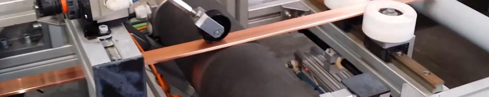 pletinas de cobre calibrada y perforada para trabajos electrónicos