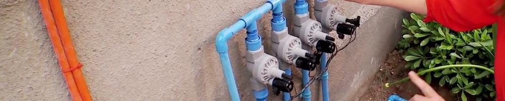 electroválvulas para riego para automatizar el sistema de riego