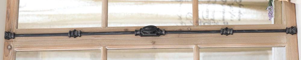 fallebas para puertas rústicas o de madera