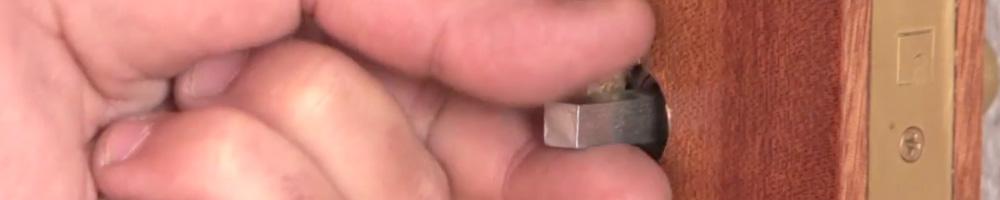 picaportes antiguos fáciles de sustituir con llave o sin ella