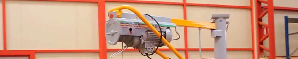 polipasto eléctrico para trabajos continuos de carga y descarga