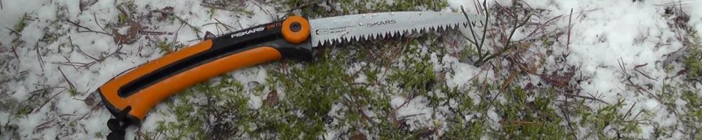 serrucho herramienta de jardín y campo para podar