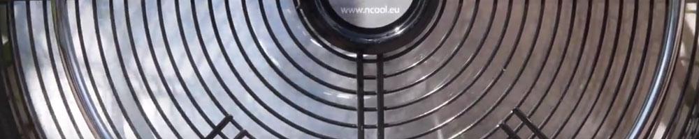 ventilador de suelo muy potente para grandes superficies